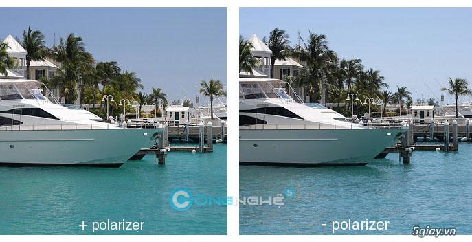 Chụp ảnh lung linh hơn nhờ Filter CPL-Circular Polarizer - 3290