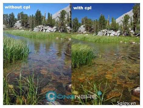Chụp ảnh lung linh hơn nhờ Filter CPL-Circular Polarizer - 3286