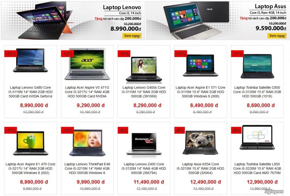 Khuyến mãi - Tuần lễ Laptop xịn cùng dienmay.com | Congnghe.