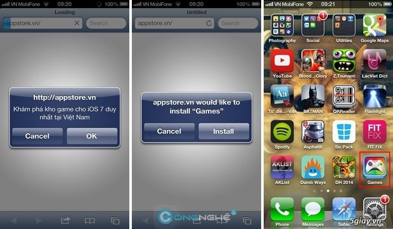 download appstorevn ios 6.1.3