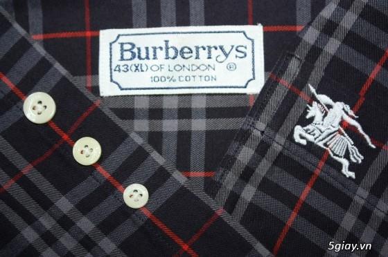 Sơmi authentic Burberry, Lacoste, H&M, Pierre Cardin, Ck, Uniqlo, Gap, Lee… giá rẻ** - 35