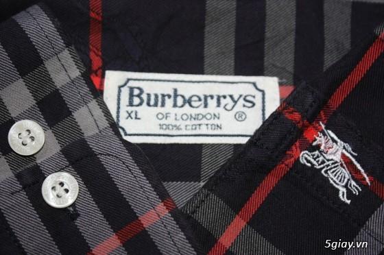 Sơmi authentic Burberry, Lacoste, H&M, Pierre Cardin, Ck, Uniqlo, Gap, Lee… giá rẻ** - 29