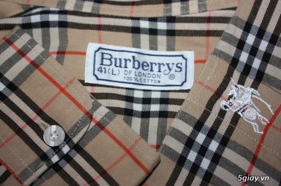 Sơmi authentic Burberry, Lacoste, H&M, Pierre Cardin, Ck, Uniqlo, Gap, Lee… giá rẻ** - 23