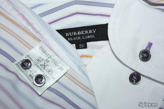 Sơmi authentic Burberry, Lacoste, H&M, Pierre Cardin, Ck, Uniqlo, Gap, Lee… giá rẻ** - 16