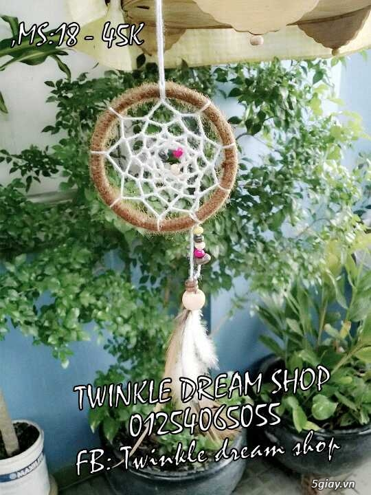TWINKLE DREAM SHOP DREAMCATCHER BUA NGU NGON handmade dep re