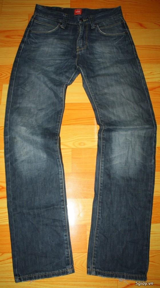 [2ndFashion] chuyên quần Jeans Authentic Levi's, CK, Diesel, Uniqlo, H&M, D&G, Evisu, - 34