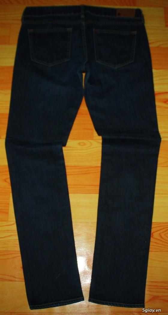[2ndFashion] chuyên quần Jeans Authentic Levi's, CK, Diesel, Uniqlo, H&M, D&G, Evisu, - 27