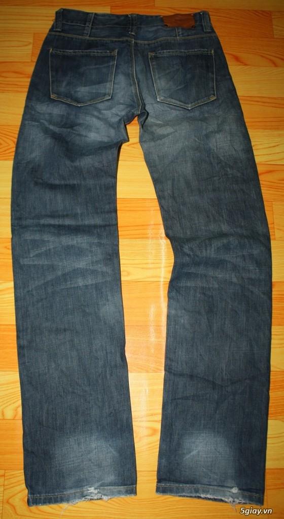 [2ndFashion] chuyên quần Jeans Authentic Levi's, CK, Diesel, Uniqlo, H&M, D&G, Evisu, - 32