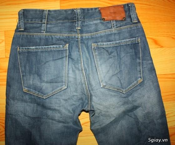 [2ndFashion] chuyên quần Jeans Authentic Levi's, CK, Diesel, Uniqlo, H&M, D&G, Evisu, - 33
