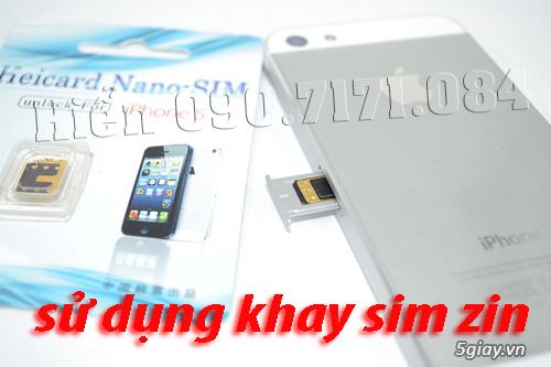 Fix *101# SMS 3G danh bạ cho iOS 7 Heicard sim ghép giá rẻ nhất nè - 3