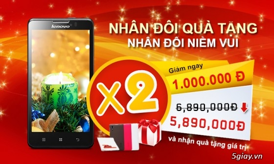 Thị trường - Nhân Đôi Quà Tặng Khi Mua Lenovo P780 | Congnghe.