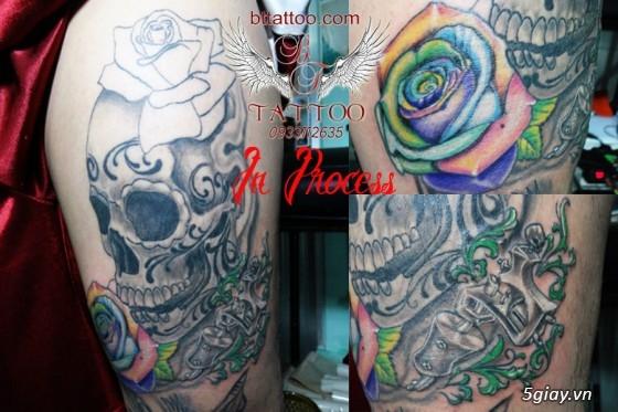 Xăm nghệ thuật BT tattoo uy tín, chất lượng, giá cả hợp lý - 15
