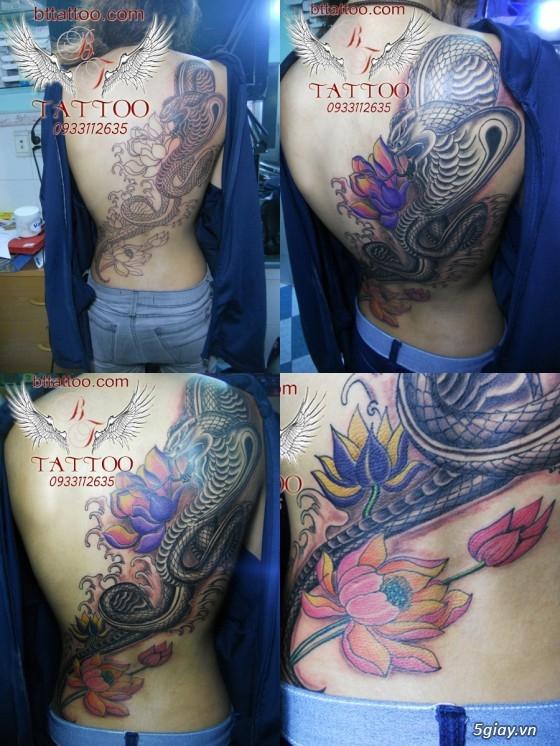 Xăm nghệ thuật BT tattoo uy tín, chất lượng, giá cả hợp lý - 46