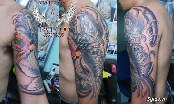 Xăm nghệ thuật BT tattoo uy tín, chất lượng, giá cả hợp lý - 38