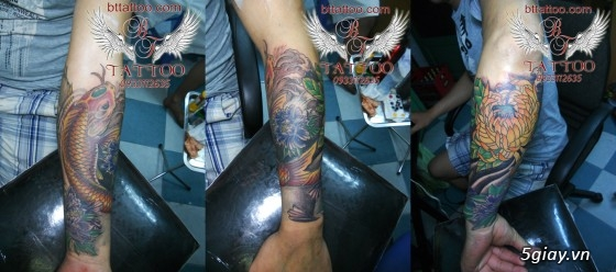 Xăm nghệ thuật BT tattoo uy tín, chất lượng, giá cả hợp lý - 48