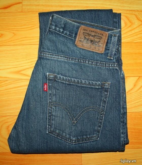 [2ndFashion] chuyên quần Jeans Authentic Levi's, CK, Diesel, Uniqlo, H&M, D&G, Evisu, - 20
