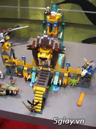 LEGO CHIA 70010  Ngôi Đền Sư Tử, 70009 Sào huyệt bộ tộc Sói   giá rẻ