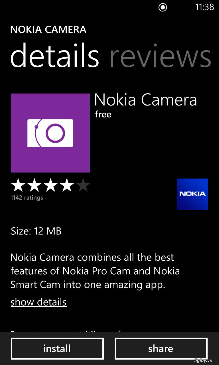 Thủ thuật - Hướng dẫn chi tiết cách cài Nokia Camera cho Lumia 520 ...