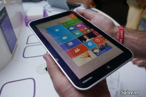 Toshiba giới thiệu máy tính bảng chạy Windows 8.1 - 6201
