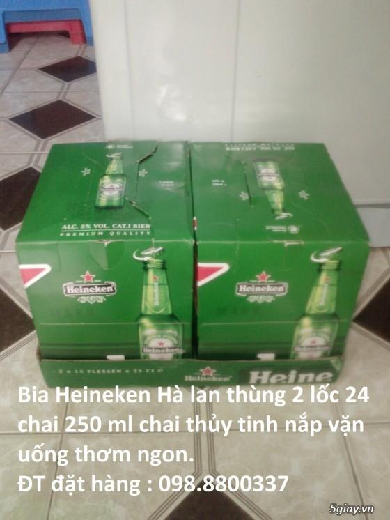 Bia Heineken Hà Lan chai thủy tinh nắp vặn uống thơm ngon