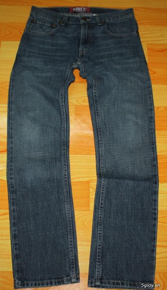 [2ndFashion] chuyên quần Jeans Authentic Levi's, CK, Diesel, Uniqlo, H&M, D&G, Evisu, - 28