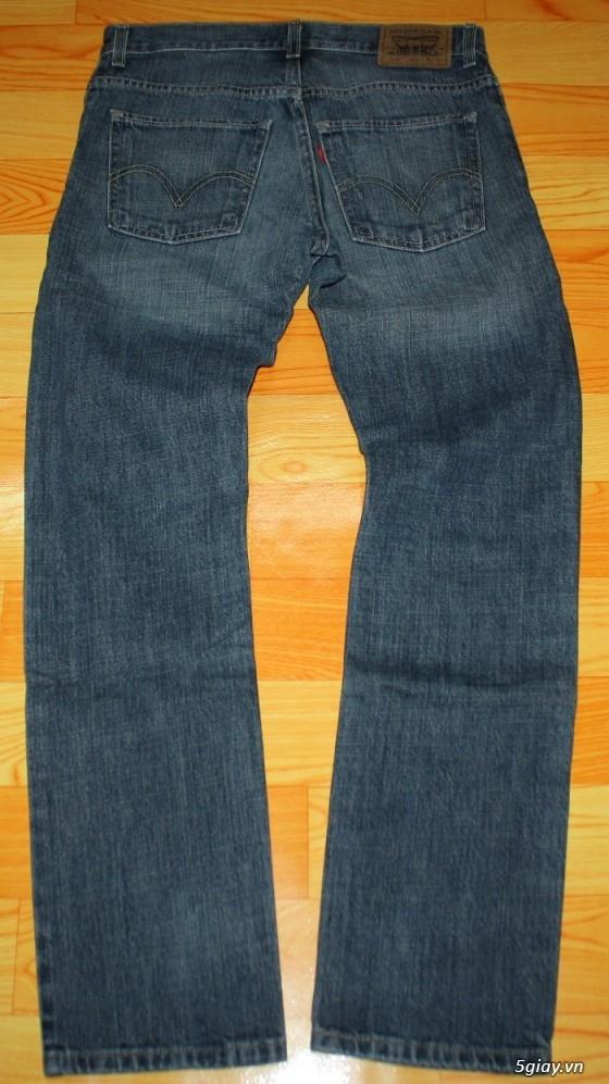 [2ndFashion] chuyên quần Jeans Authentic Levi's, CK, Diesel, Uniqlo, H&M, D&G, Evisu, - 29