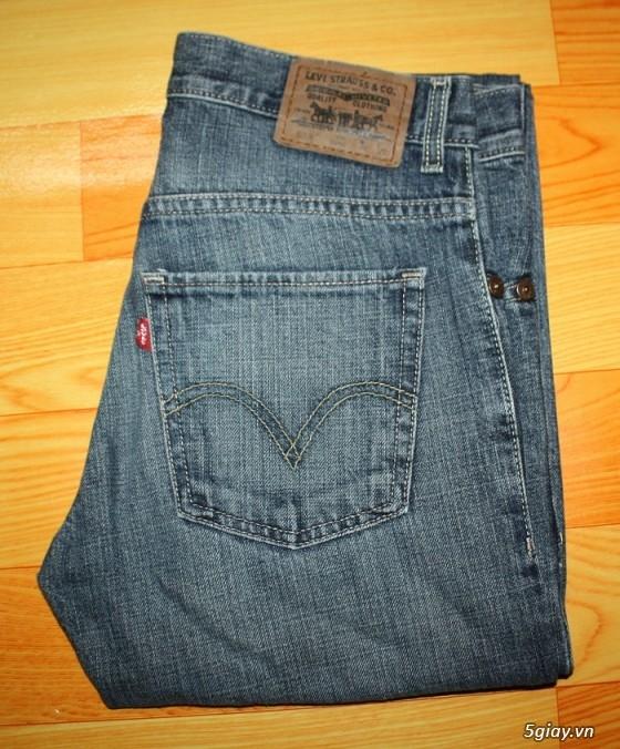 [2ndFashion] chuyên quần Jeans Authentic Levi's, CK, Diesel, Uniqlo, H&M, D&G, Evisu, - 31