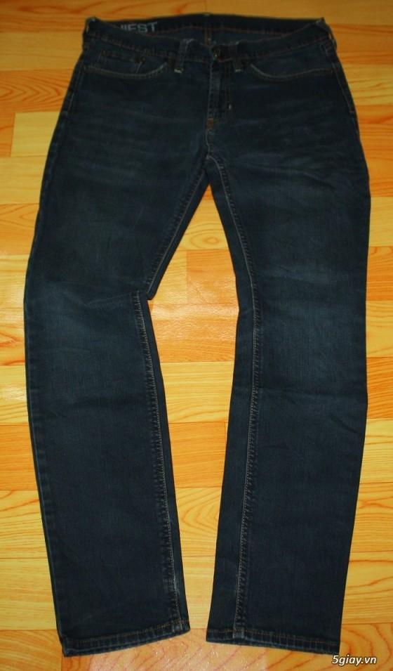 [2ndFashion] chuyên quần Jeans Authentic Levi's, CK, Diesel, Uniqlo, H&M, D&G, Evisu, - 11