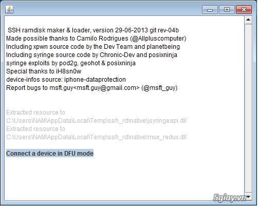 Cách Hack Active iPhone 4 bị dính iCloud - 8185