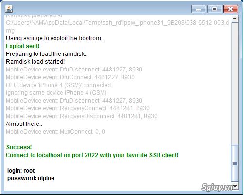 Cách Hack Active iPhone 4 bị dính iCloud - 8186