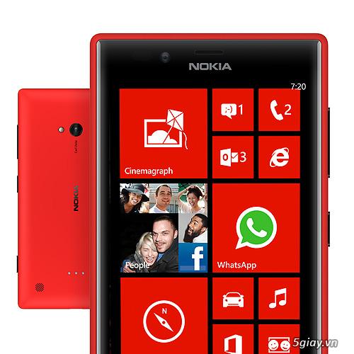 Thị trường - Địa chỉ bán Nokia Lumia 720 cũ nguyên box giá rẻ nhất ...