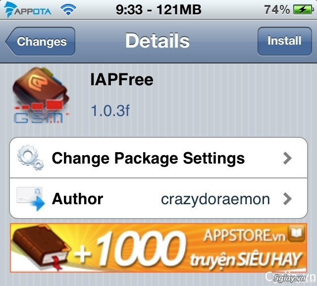 Thủ thuật - Sử dụng IAPFree iOS 7 hack in-app purchase trong game ...