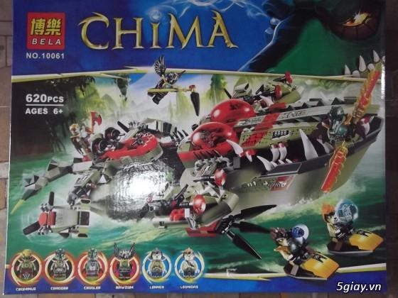 HCM - đồ chơi lego chima (hàng mới về,giá rẻ)