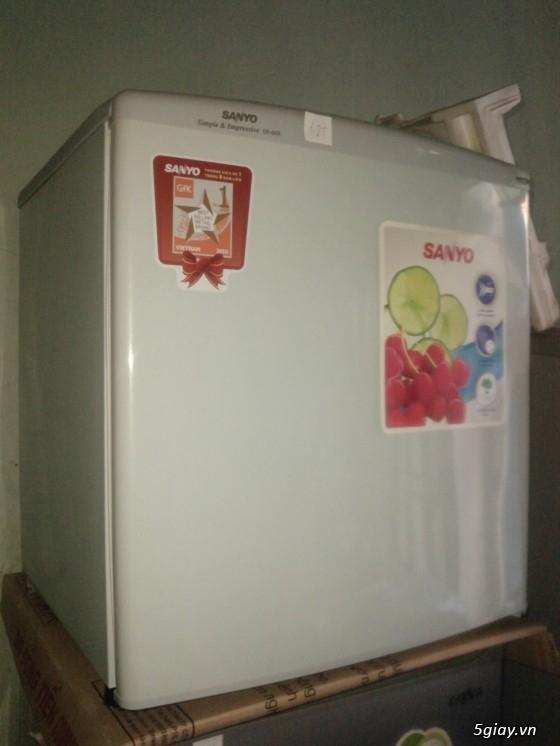 Tủ lạnh sanyo 110 lít SR- 125RN và 50 lít SR-5KR - 1