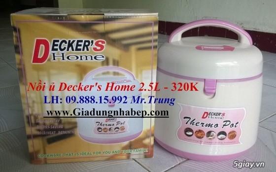 Nồi ủ-hầm Đa năng Decker's Home-Homemax-Khaluck-Tiger giá Sỉ-Lẻ - 29