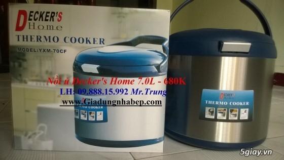 Nồi ủ-hầm Đa năng Decker's Home-Homemax-Khaluck-Tiger giá Sỉ-Lẻ - 35