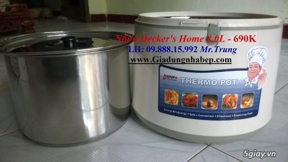 Nồi ủ-hầm Đa năng Decker's Home-Homemax-Khaluck-Tiger giá Sỉ-Lẻ - 38