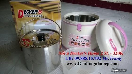 Nồi ủ-hầm Đa năng Decker's Home-Homemax-Khaluck-Tiger giá Sỉ-Lẻ - 30