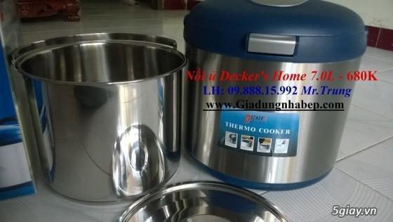 Nồi ủ-hầm Đa năng Decker's Home-Homemax-Khaluck-Tiger giá Sỉ-Lẻ - 36