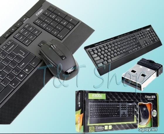 T&T Shop Chuyên Cung Cấp Mouse & Keyboard,Không Dây & Có Dây,Từ Trung Cấp Đến Cao Cấp - 14