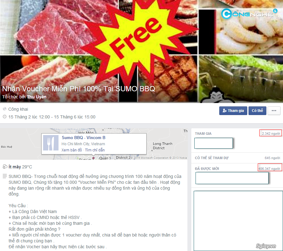 Lừa đảo nhận quà miễn phí trên Facebook. Hãy tỉnh táo! | Congnghe.