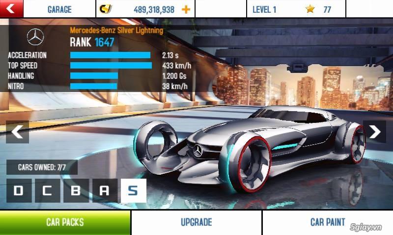 Game - Hướng dẫn mở khóa Asphalt 8 Full xe, nâng cấp! | Congnghe.