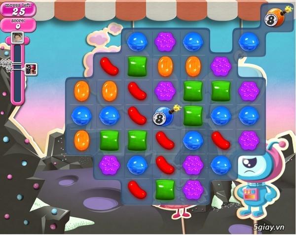 Game - Candy Crush Saga và những màn chơi khó qua nhất | Congnghe.