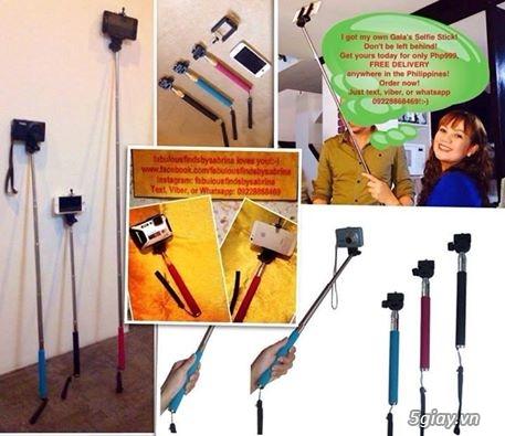 Selfie stick tay cầm tự chụp hình monopod chân máy ảnh giá rẻ
