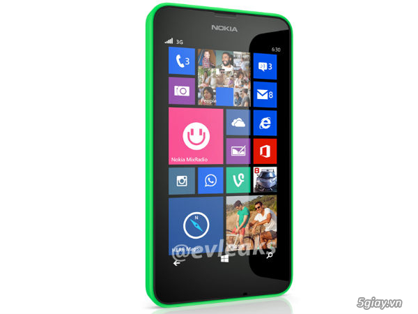 Tin tức - Rò rỉ chi tiết cấu hình Lumia 630, giá dự kiến 3,5 triệu ...