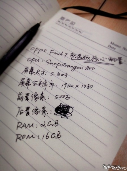 Tổng hợp thông tin về Oppo Find 7 trước giờ G - 11929