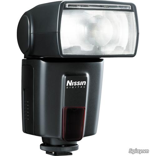 Bán đèn flash Nissin Di600 (chính hãng) cho Nikon và Canon -  Bảo hành 12 tháng - 1
