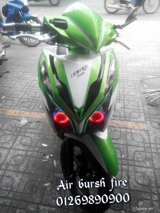 [Airbrush] Sơn xe giá rẻ - Sơn zin - Phối màu - Tem Đấu - Phong cách Airbrush !!! - 32