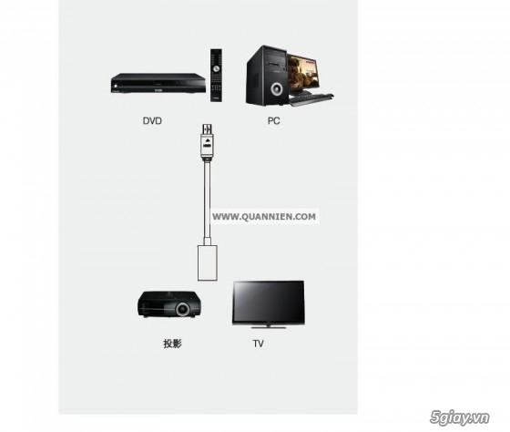 HDMI to VGA apdater , Mini Displayport , MHL , cáp HDMI , SLIMPORT TO HDMI chính hãng - 4