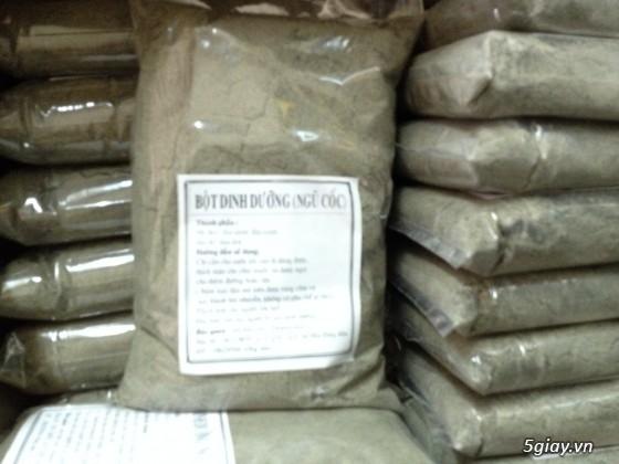 Bột Gạo Lứt mè đen-Bột Ngũ Cốc thực phẩm dinh dưỡng dành cho mọi lứa tuổi - 6